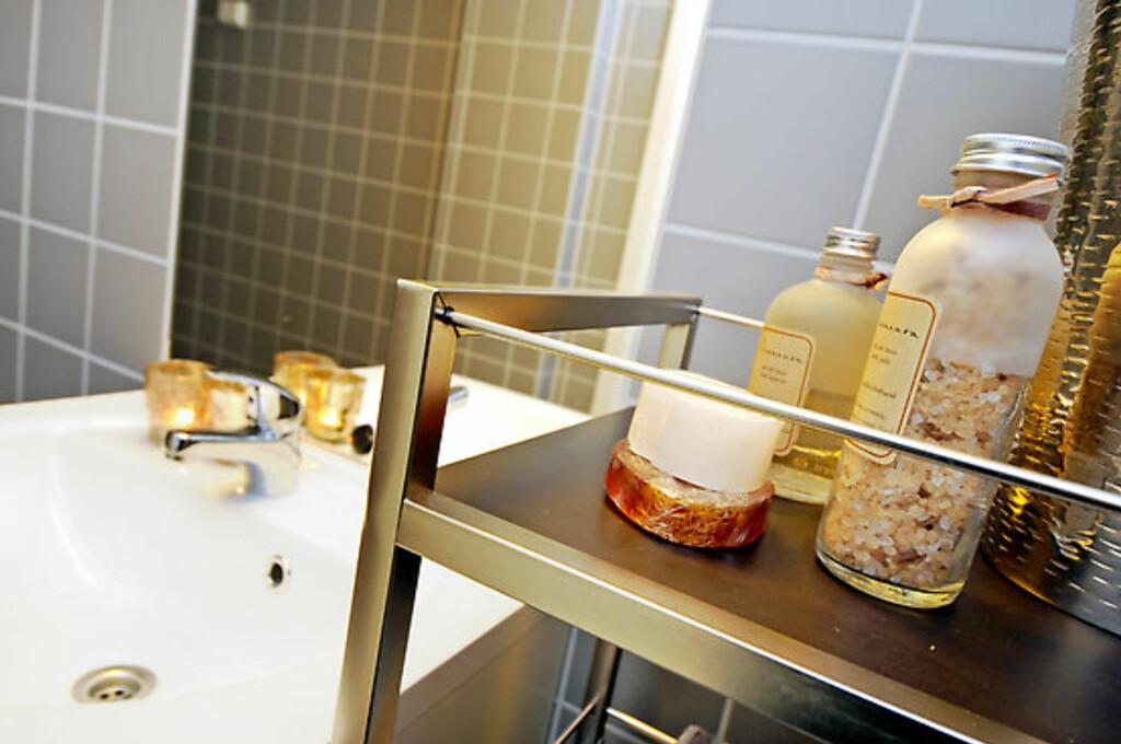 Detalj fra badet. Foto: Foto: Garanti Eiendomsmegling