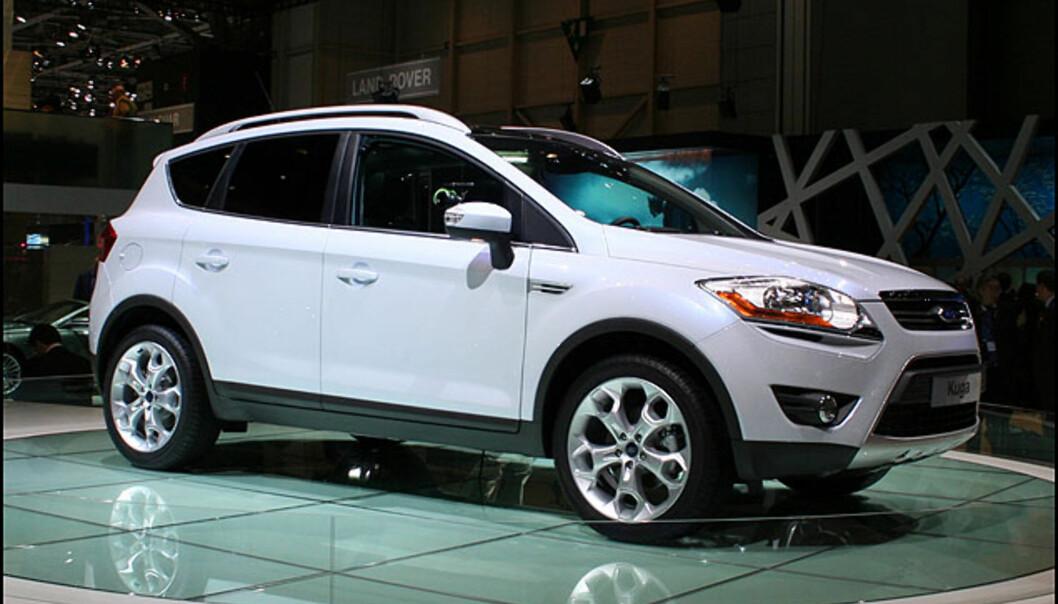 Ford Kuga er en ny europeisk SUV som vil konkurrere med bl.a. VW Tiguan.
