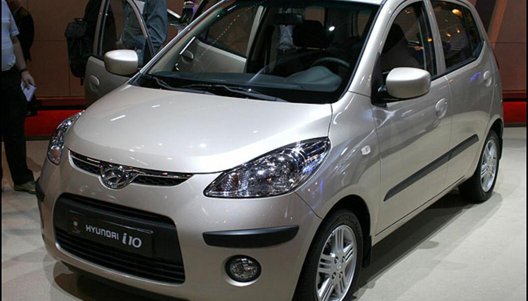Hyundais nye småbil, i10