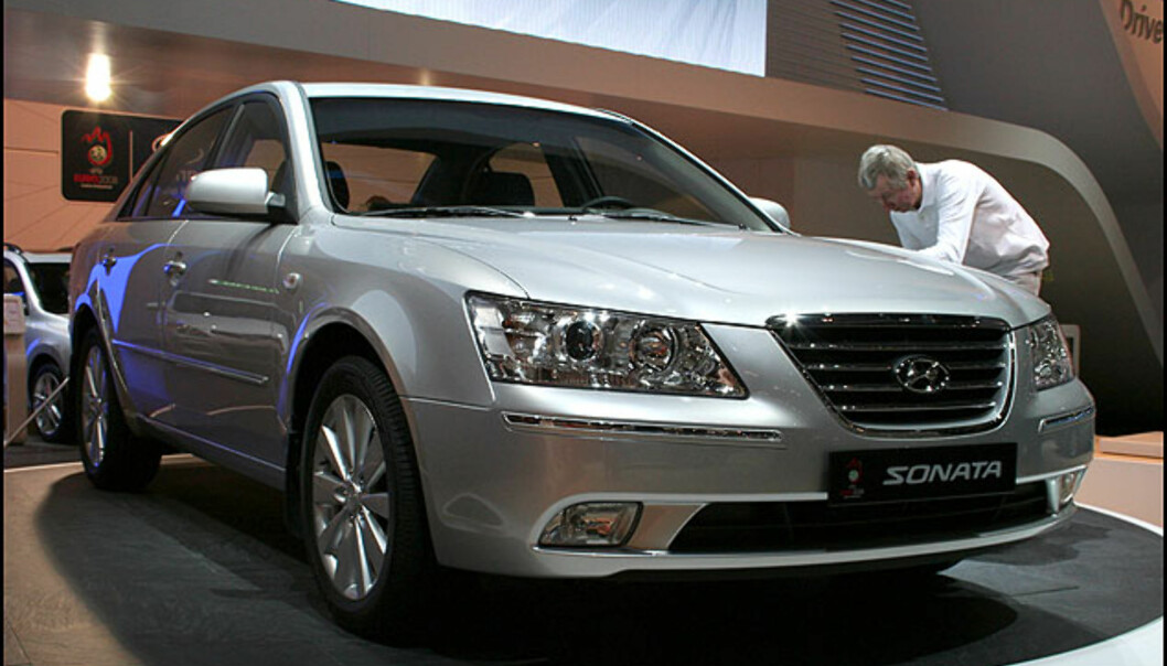 Hyundai Sonata har fått en aldri så liten ansiktsløftning.