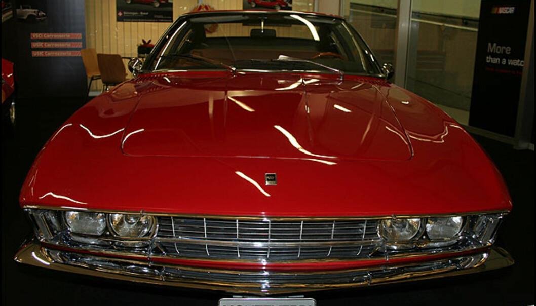 Monteverdi - en staselig sveitsisk klassiker med 7,2-liters V8-motor og 380 hester.
