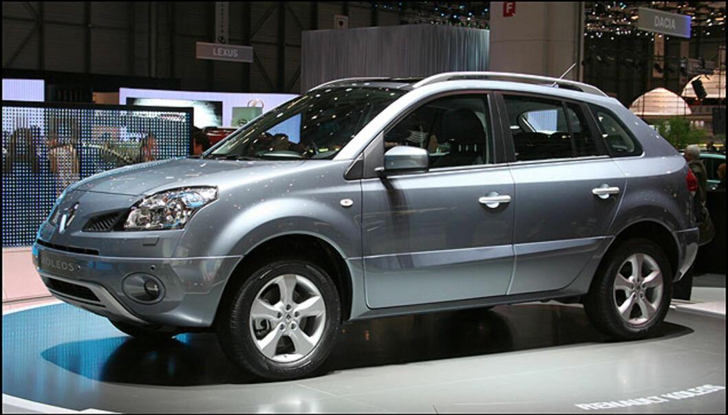 Renault Koleos. Fransk/japansk/koreansk Kuga- og Tiguankonkurrent