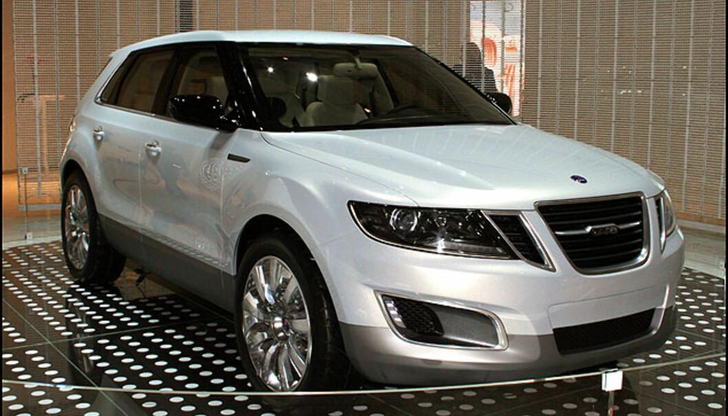 På tide Saab kommer med noe nytt. Foreløpig prototype: 9-4 X