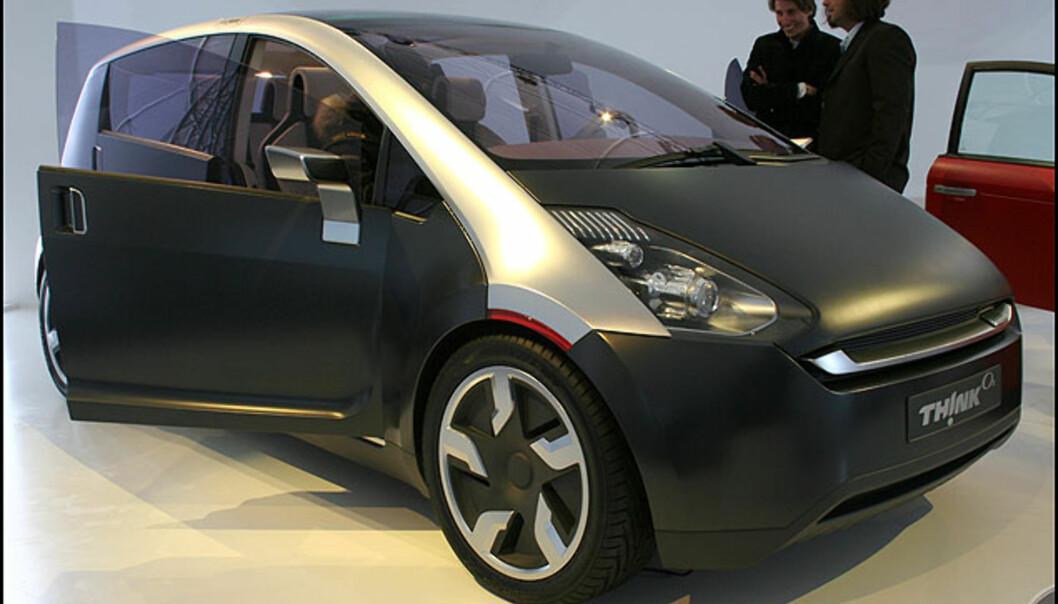 Think Ox - norsk konsept. Familiebil med el-motor og datatilkobling.