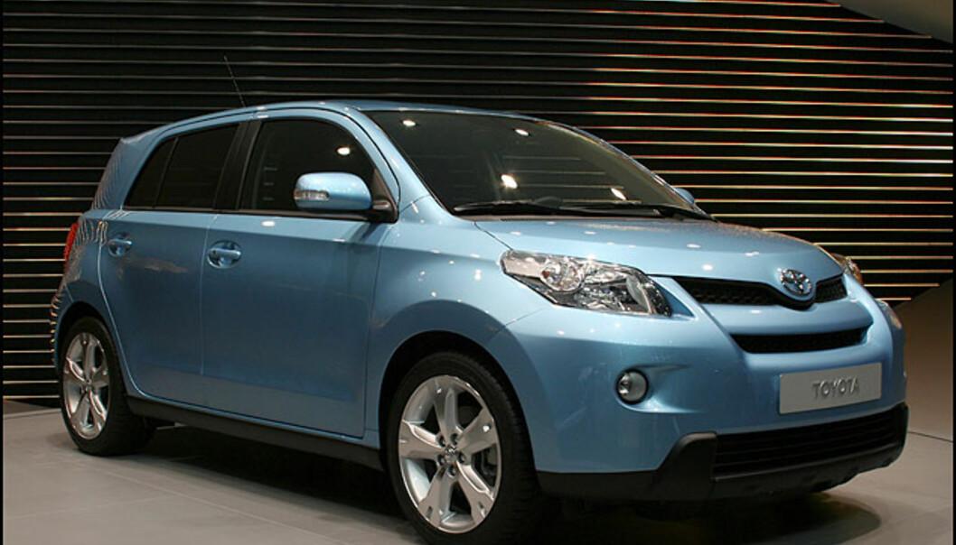 Ny Toyota-SUV: Urban Cruiser