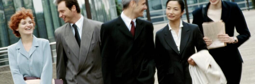 Klær alene vil nok ikke kunne gi deg en toppstilling, men riktige klær kan virkelig hjelpe deg på veien opp. <i>Foto: Colourbox.com</i> Foto: Foto: colourbox.com