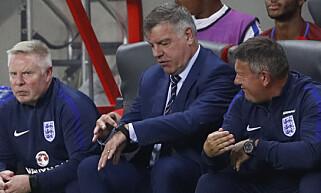 FIKK DET HAN KOM FOR: Sam Allardyce fikk - til slutt - en god start på karrieren som England-boss. Foto: Action Images / Reuters / Carl Recine / Livepic / NTB Scanpix