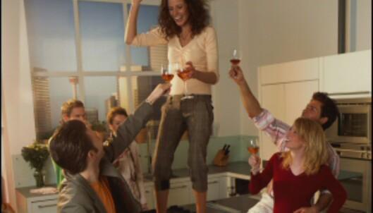 Om ikke festen begynner på kjøkkenet, har den ofte en tendens til å ende der... <i>Foto: Electrolux</i>