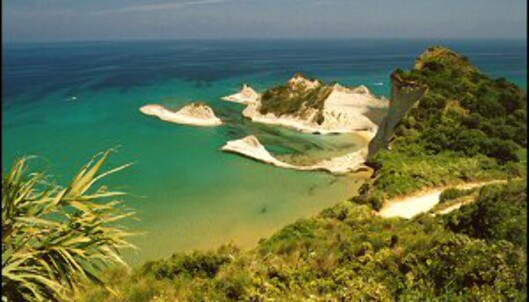 Ny rute til Korfu