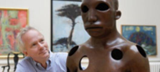 Geir D. Hauge jobber som kunstrådgiver i Formuesforvaltning. Foto: Foto: Formuesforvaltning.no