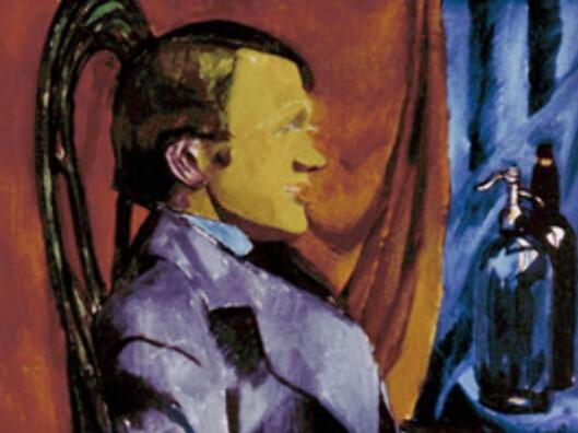 Per Kroghs malerier er sikre investeringer. Dette portrettet av maleren Otto Johansen malte han i 1911. (Bildet er et utsnitt.)