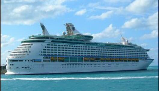 Cruise er populært, men ikke amerikanske medpassasjerer. Foto: Phil Kelsch