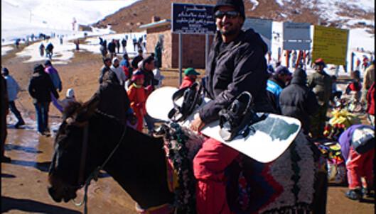Youness Arabab forteller at Oukameiden kan være utrolig bra når snøen faller. Sesongen er imidlertid kort - januar, februar og mars.