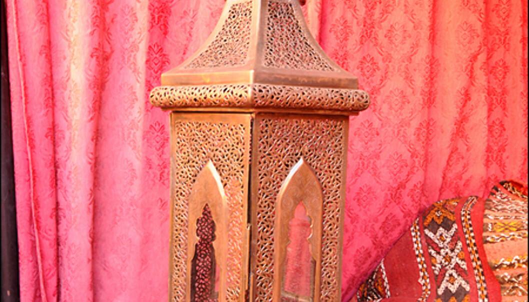 Interiørbilder fra Marrakesh