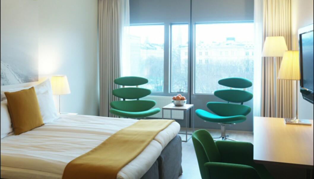 De danske rommene har møbler av Erik Jørgensen. <i>Foto: Clarion Hotel Sign</i>