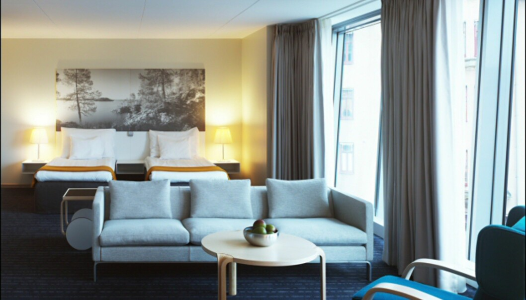 - og de finske har Alvar Aalto-møbler. <i>Foto: Clarion Hotel Sign</i>