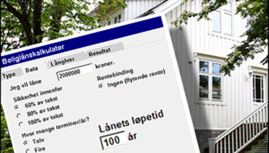 Hvor lang er nedbetalingstiden på lånet? <i>Arkivfoto/montasje: Per Ervland</i>