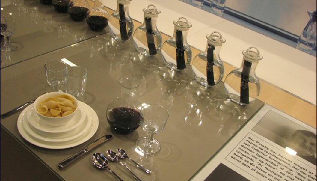 <strong>Nyhet fra Rosendahl og Ole Palsby:</strong> Vinkarafler og vinglass.