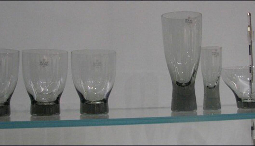 Gammel nytt fra Holmegaard. Disse glassene var populære på 60- og 70-tallet, og er nå tilbake! Riktig retro.