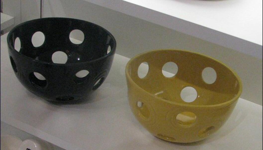 Ikke til suppe! Keramikkboller fra Holmegaard/Kähler.
