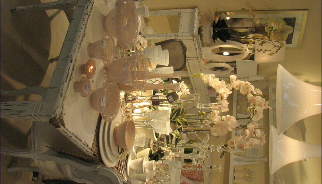 Svenske SIA var selvsagt også representert på messen. Her er det også romantikken som blomstrer!