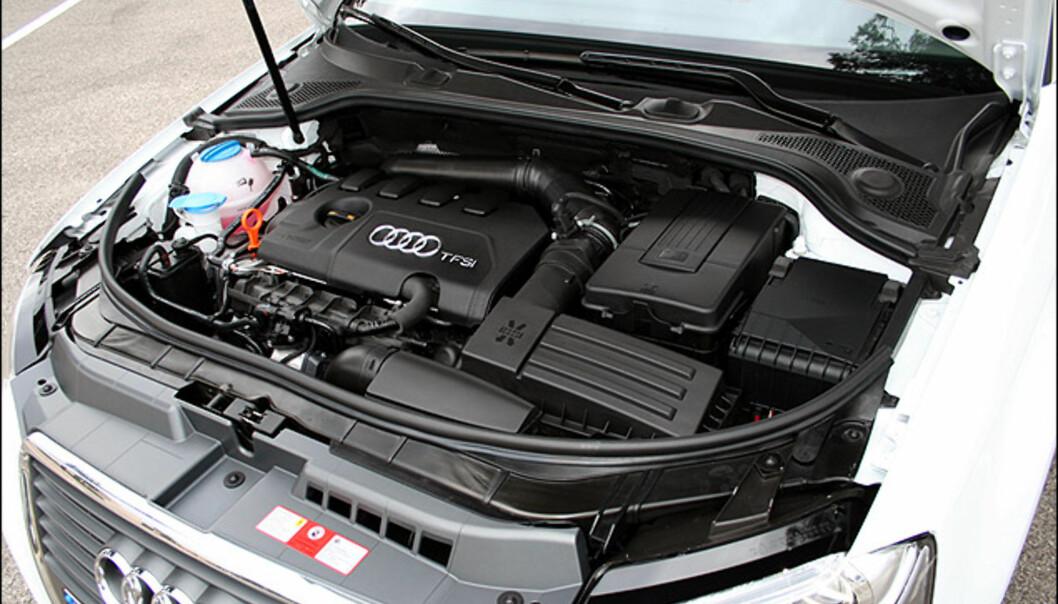 Audi A3 Cabriolet: Store interiør-bilder