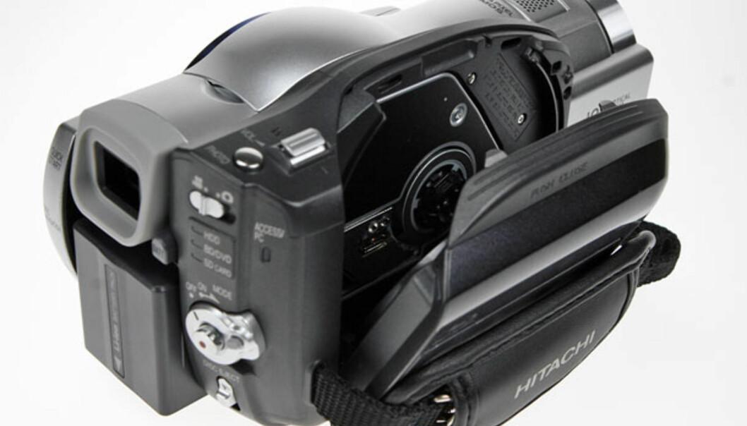HD videokamera med Blu-ray