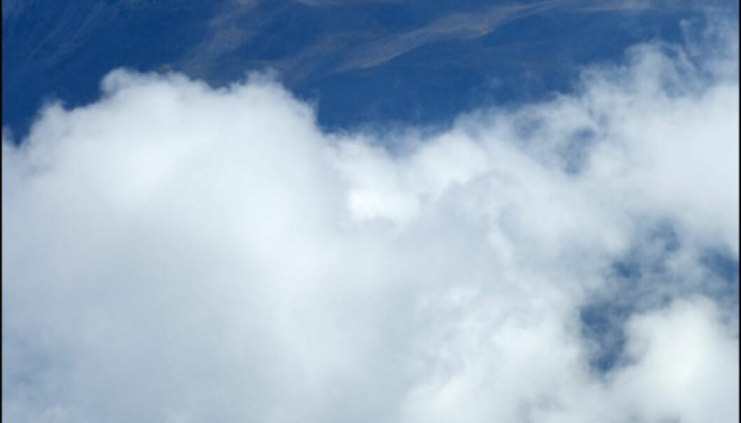 Du dykker inn og ut av skydekket på en tur i denne delen av Andesfjellene.