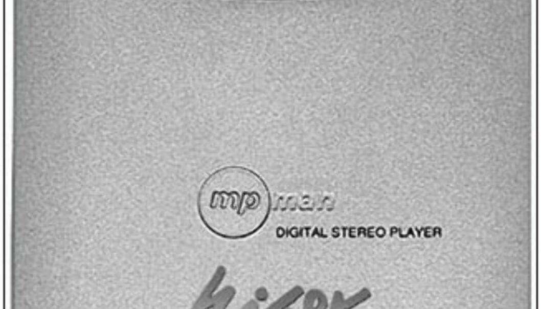 Den første MP3-lommespilleren