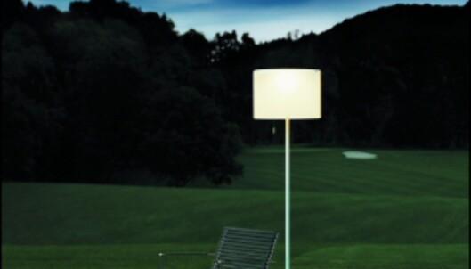 """Den ultimate strømsparelampen Zoe lagrer sollys om dagen, som blir til leselys om kvelden. Les mer: <a target=""""_blank"""" href=""""http://www.dinside.no/php/art.php?id=396356"""">Gratis leselys</A>"""