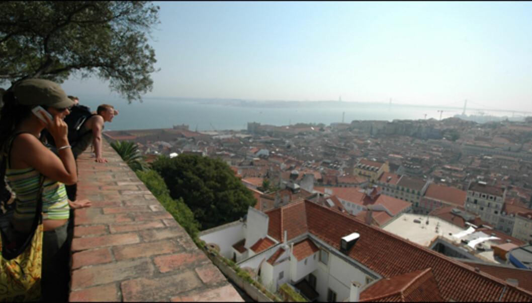 Utsikten fra Castelo de Sao Jorge er noe du ikke må glipp av når du er på tur til Lisboa.