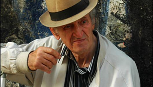 En gammel mann i Alfama. Lisboas fattigste, men mest orginale nabolag.