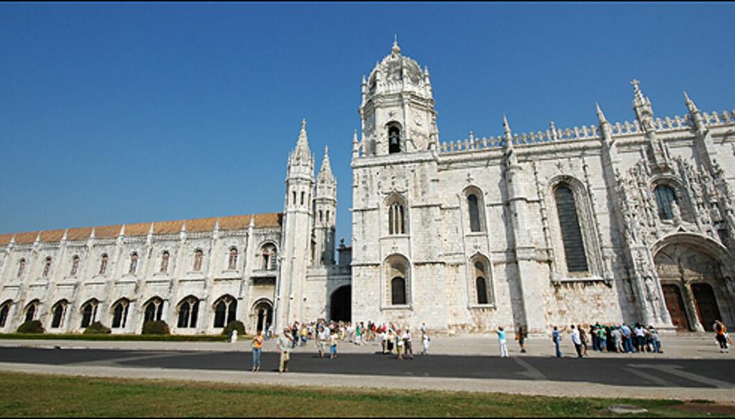 Mosteiro dos Jeronimos er en verdensarv verdig. Slottet står til ære for Vaco da Gamas oppdagelse av sjøveien til India.