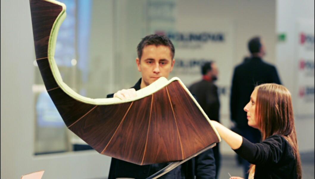 Spennende form fra Verikon. Foto: IMM Cologne: Hitguide 2008