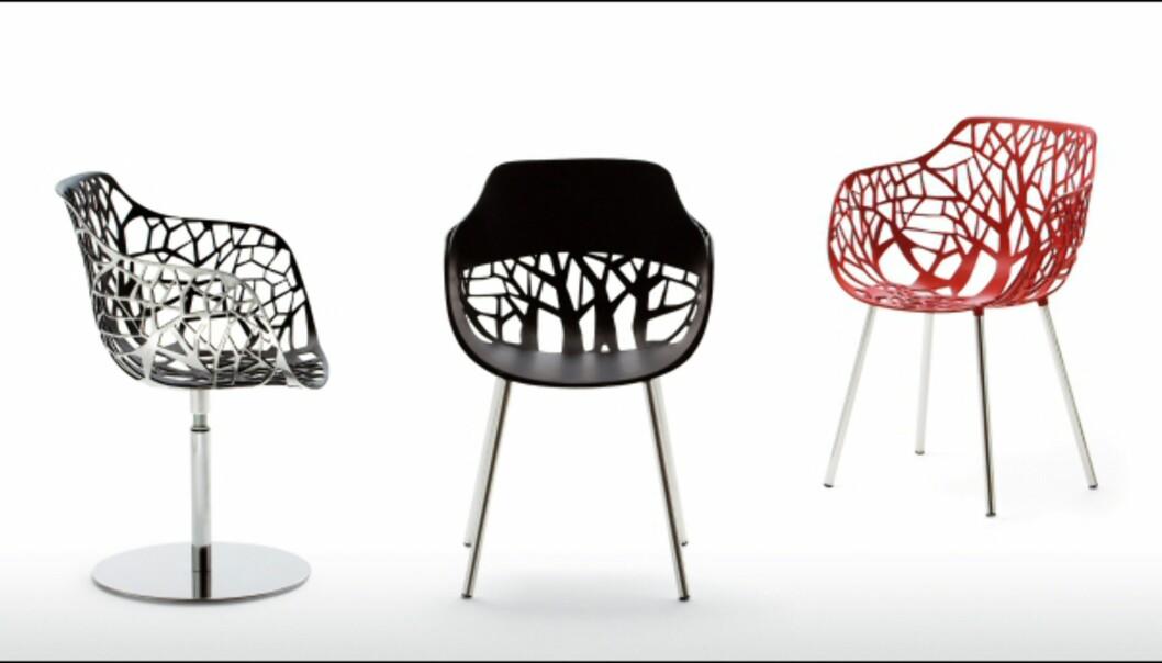 Stolen Forest er designet av Robby og Francesca Cantarutti for tyske Weishaeupl.