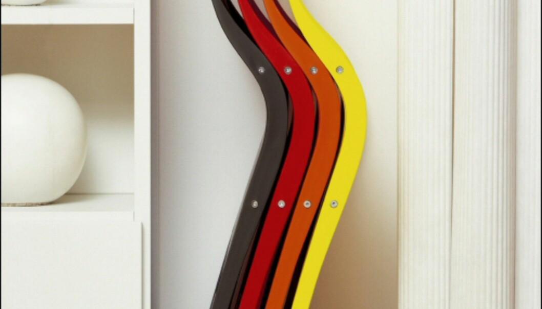 Klappstolene Waves fra JDS pynter pent opp selv om de ikke er i bruk.