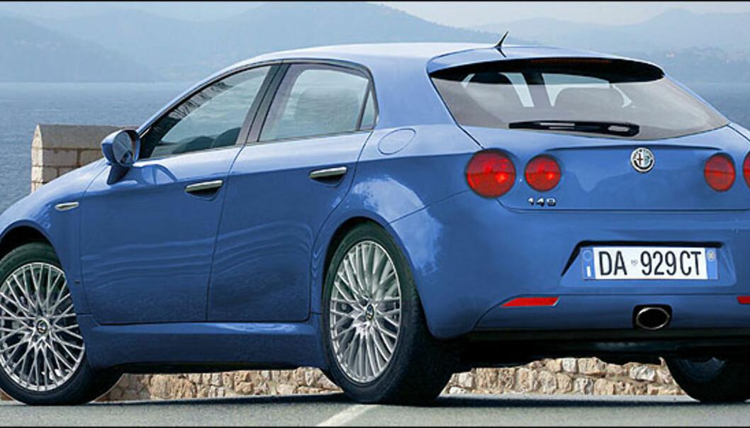 Alfa Romeo 149 er ventet i 2009. Bildet er manipulert.