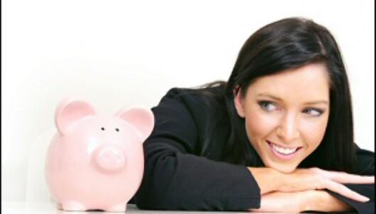 Ingen vits i å gi pengene til strømselskapene i banken, når de trives mye bedre i din egen sparegris.<br /> <br /> <i>Foto: iStock</i>