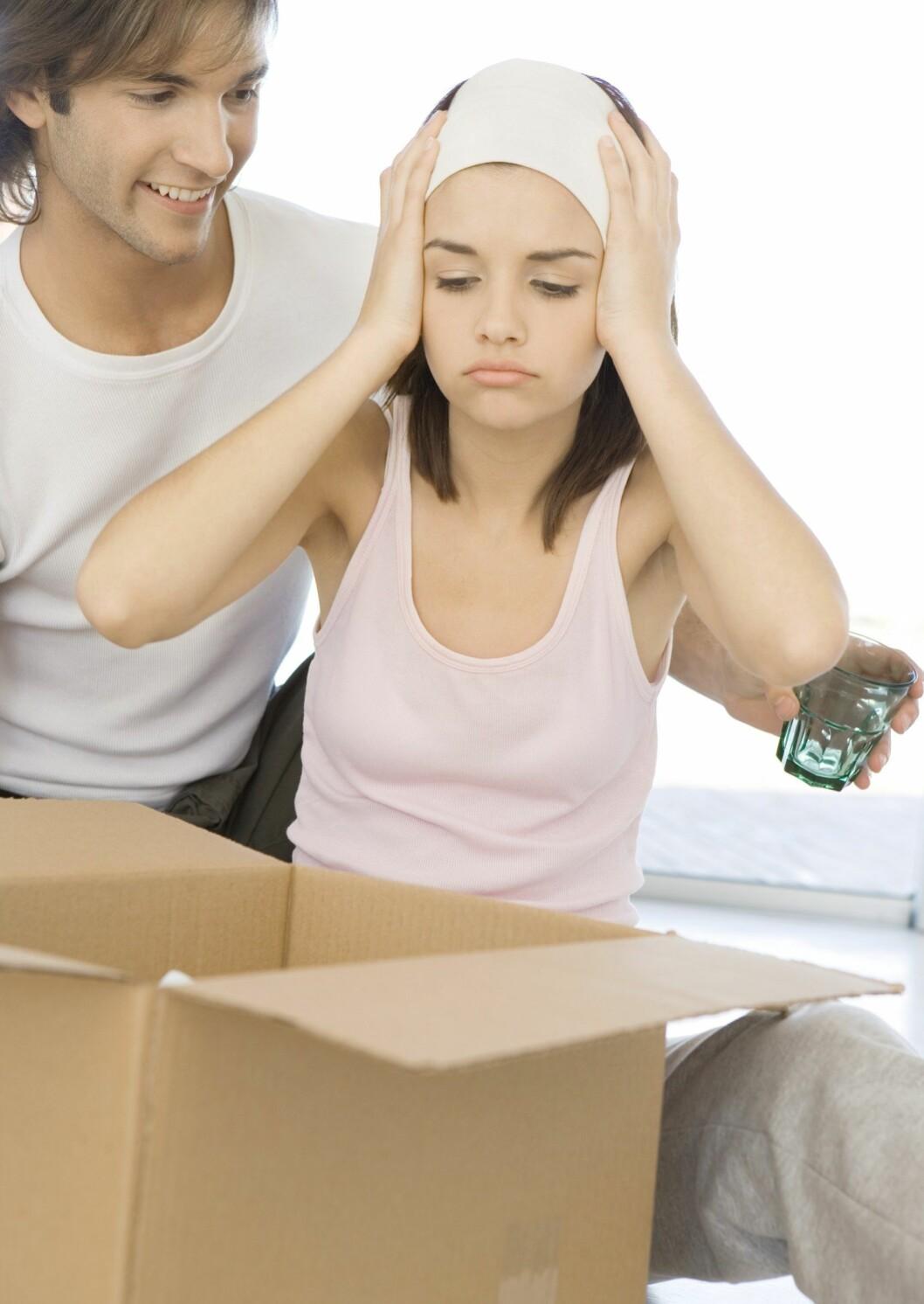 PMS på nervene løs
