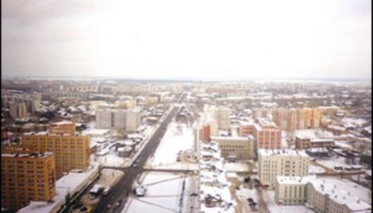 Arkhangelsk, en by som ikke frister til gjenbesøk.