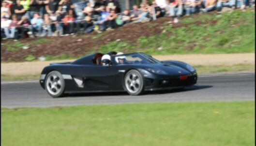 En periode var Sharif den stolte eier av verdens raskeste bil. <i>Arkivfoto: Autofil</i>