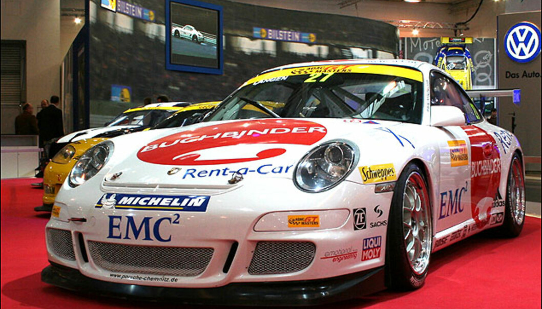 Porsche rigget for ADAC GT-Masters