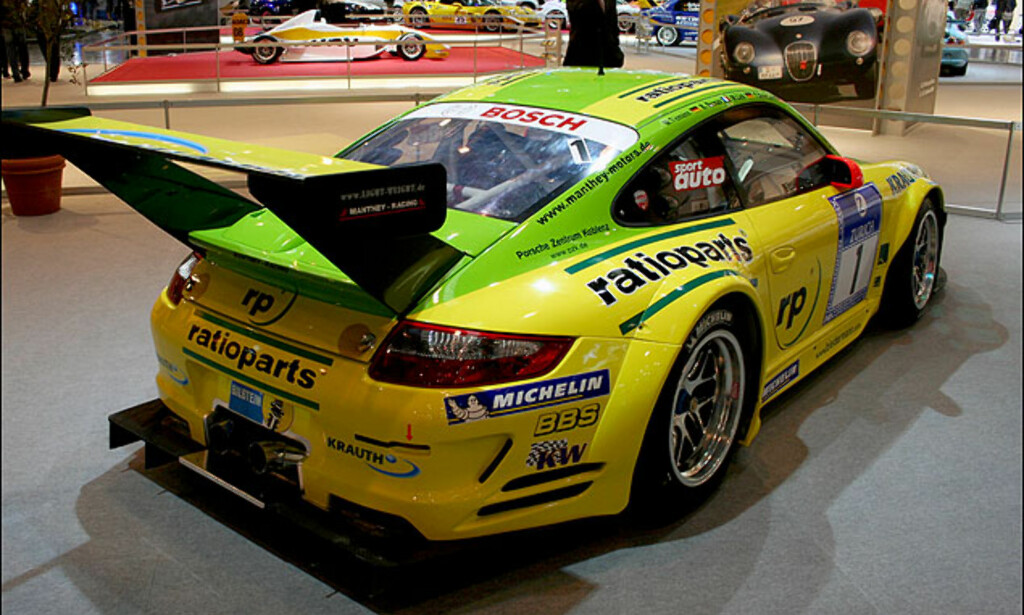 Porsche 911 GT2 klar for GT-serien med Manthey-racing