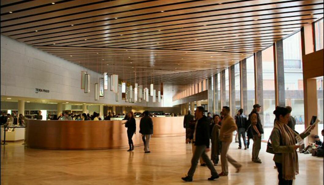 Prado har akkurat åpnet en splitter ny avdeling. Det nye inngangspartiet som binder den gamle bygningen med den nye er lekkert.