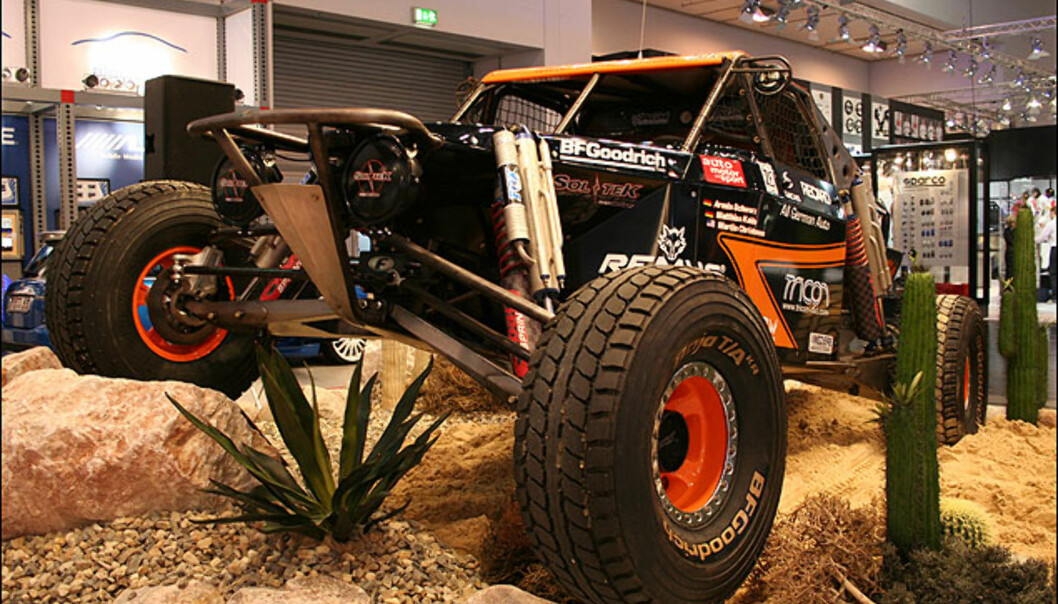 Baja-Jeep'en til Armin Schwartz