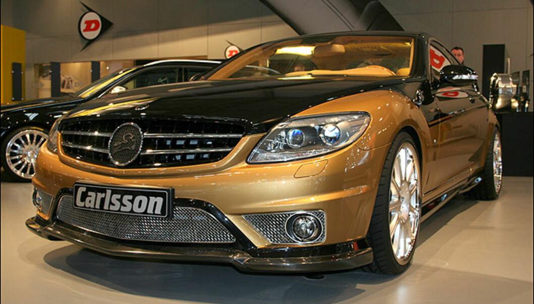 En Carlsson-versjon av Mercedes CL 600