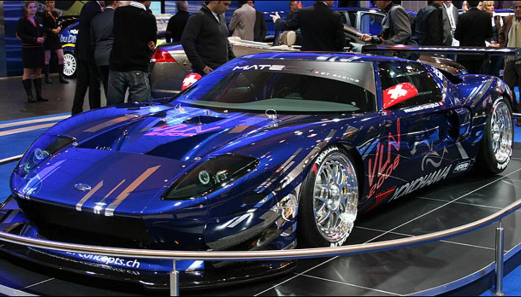 En iøynefallende Ford GT