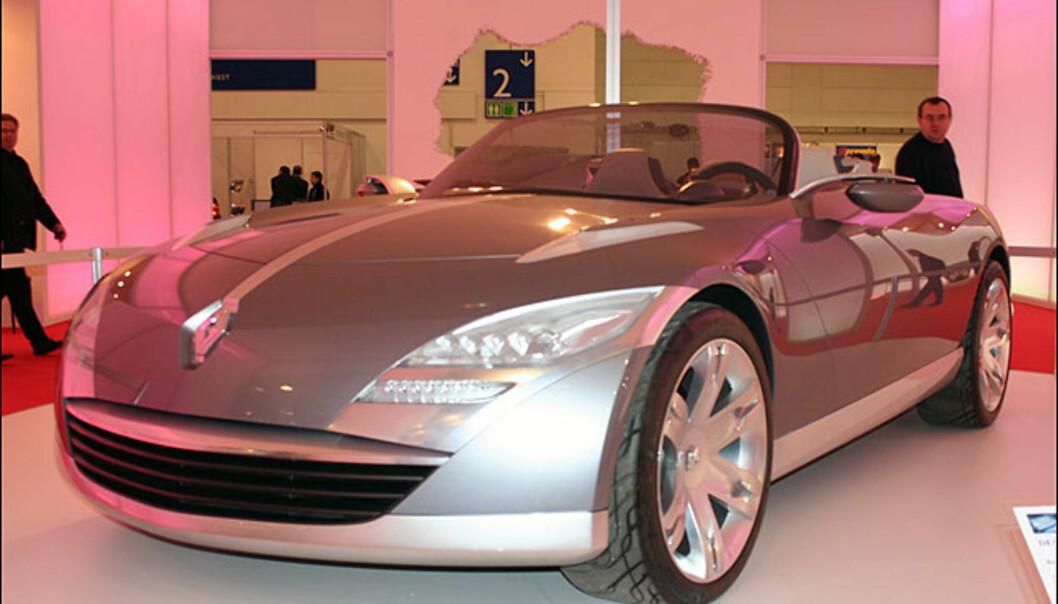 Renault Nepta - kabriolet-studie