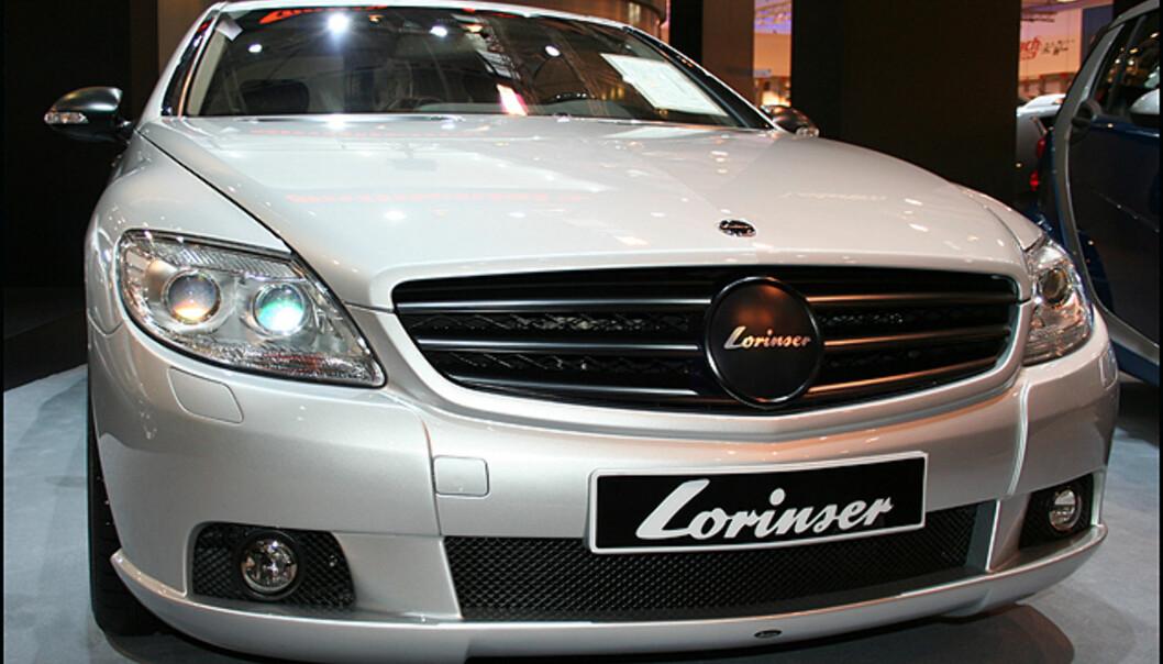 Lorinser er en velrenommert Mercedes-trimmer. Her med en vesjon av CL.