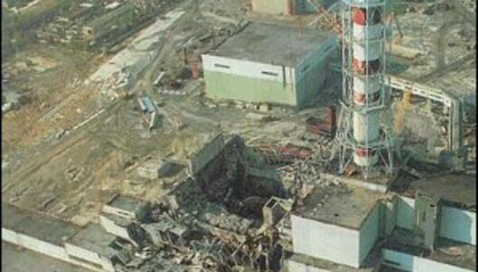 Den ødelagte reaktoren i Tsjernobyl.<br /> <i>Foto: Wikipedia</i> Foto: Wikipedia